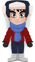 Weather Polanki: Cold, -10°C, cloudy, no significant precipitation